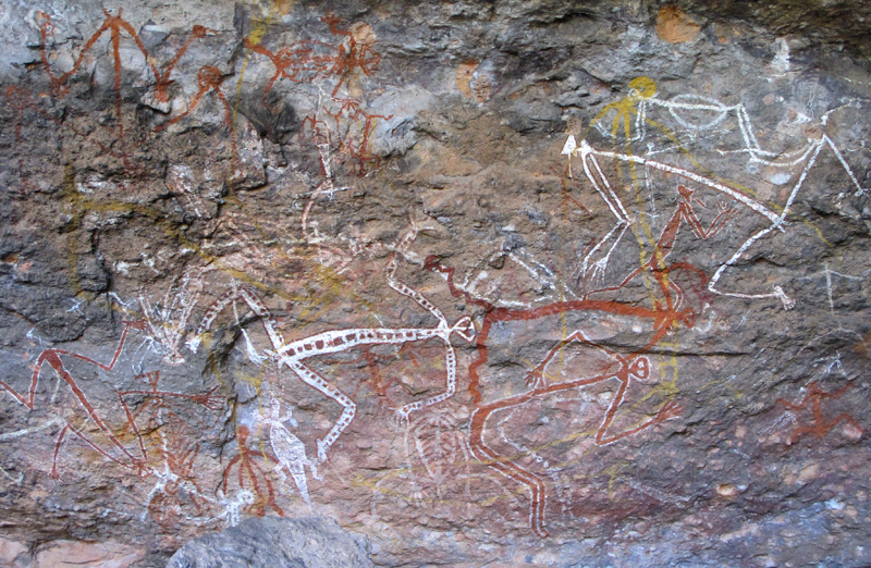 Rock art - Kakadu National Park