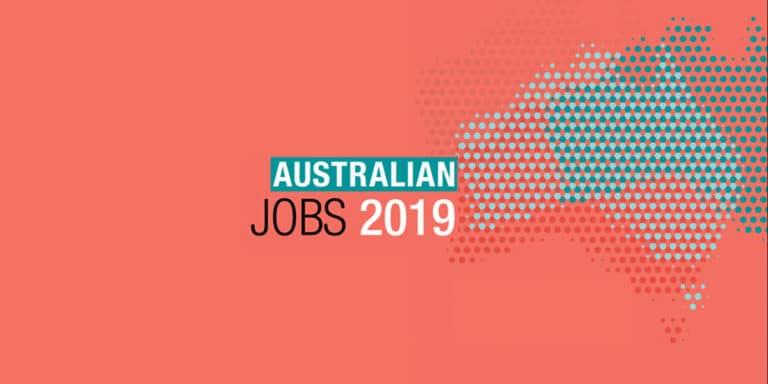 Jobs recherchés en Australie – 2019