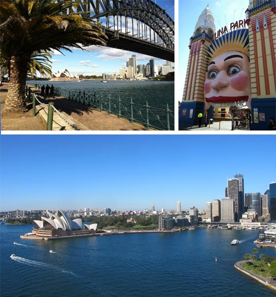 Milsons Point Baie Sydney Australie