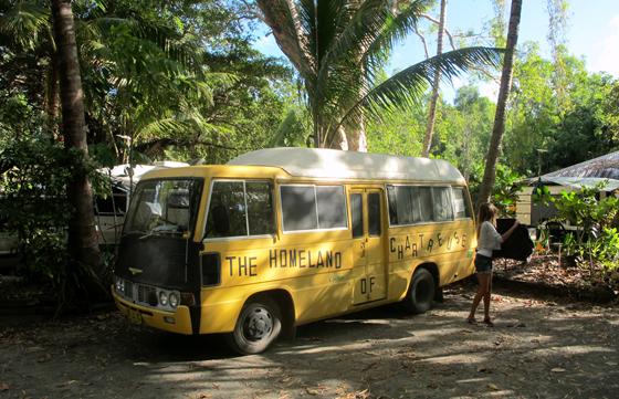 Bus liberté australie camping