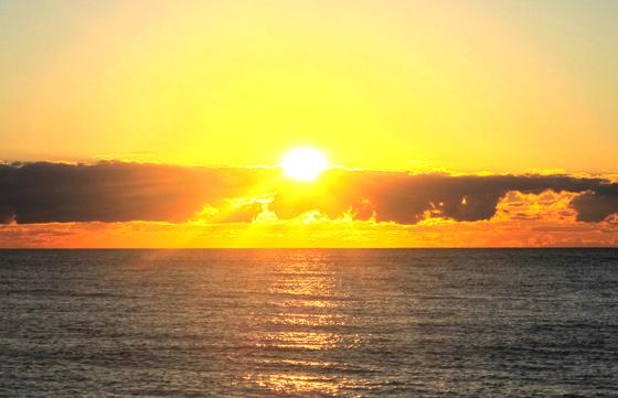 Sunset Australie liberté