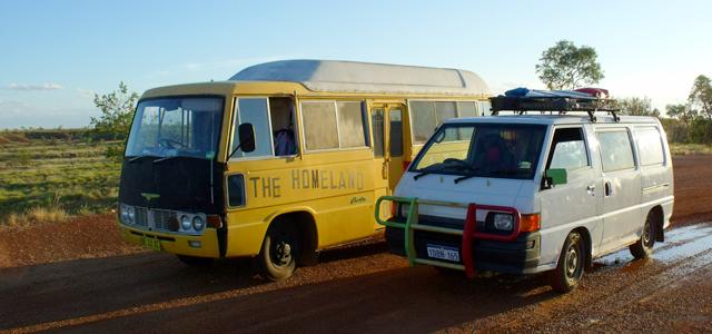 Vivire un an dans un van Australie Backpackers