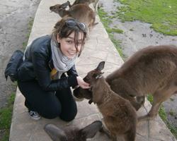 Gaelle Reporter Australie Guide Backpackers WHV