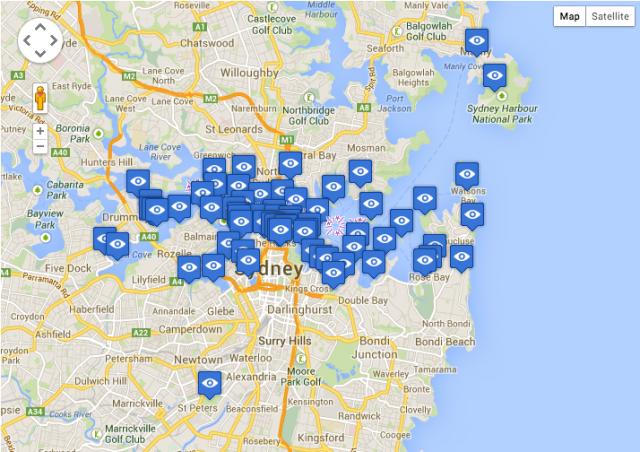 Ou voir le feu d'artifice Sydney 2013 Jour de l'an