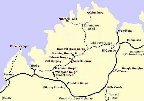 gibb River Road Australia Card