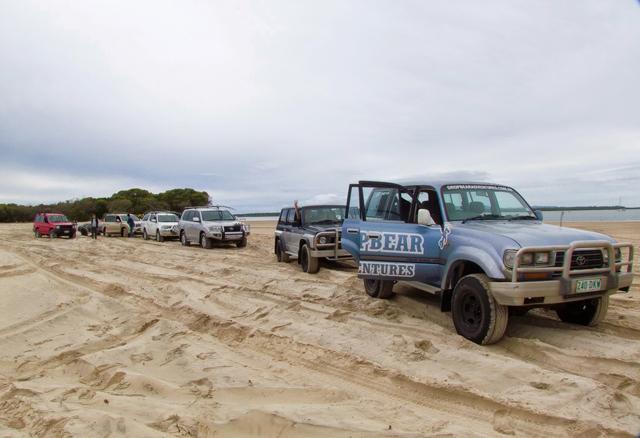 Fraser Island 4WD beach australia
