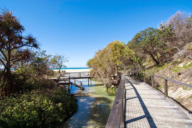 Fraser Island Australia lookout