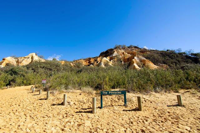 Fraser Island Pinnacles Australia