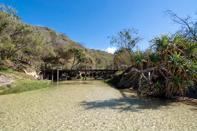 Fraser Island Rivier Australia
