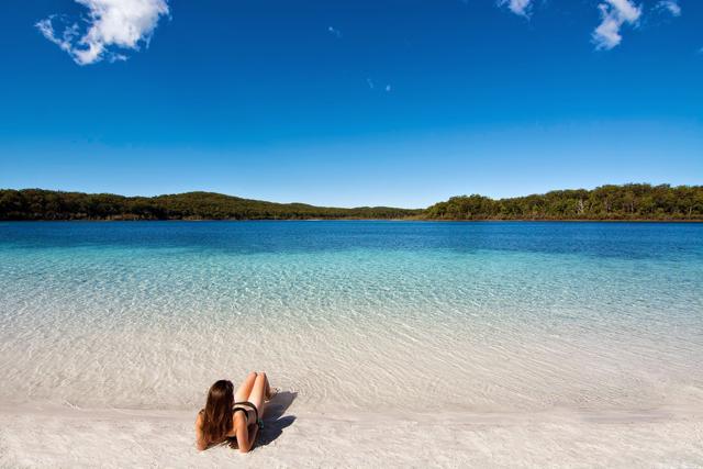 Fraser Island dream beach Australia