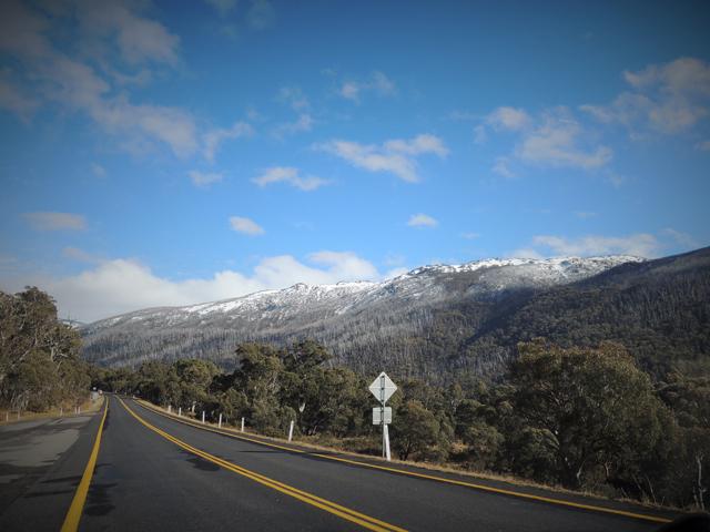 Station ski Australie Snowy mountains 2