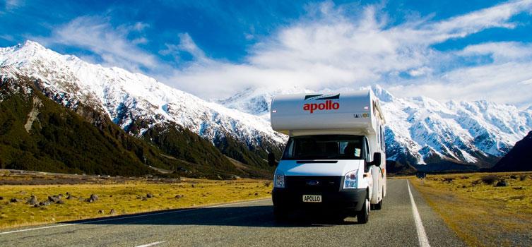 Louer un Camping-Car Nouvelle-Zélande