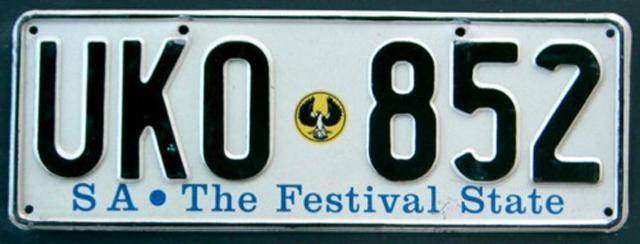 SA vehicle registration