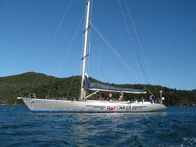 whitsundays british defender