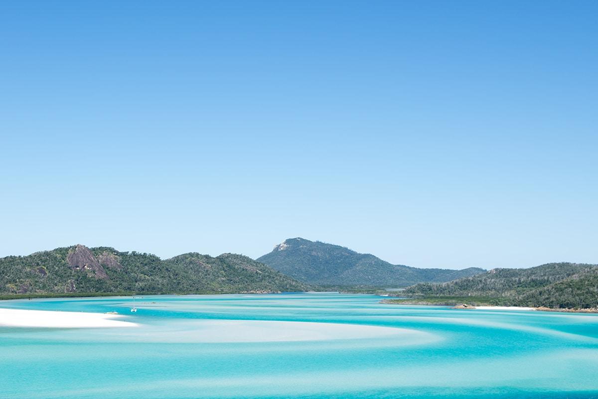 Whitehaven Beach - Whitsunday Islands - Queensland - Plus belles plages en Australie