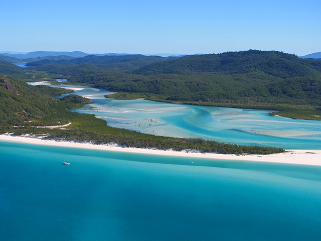 endroits immanquables Whitsunday Islands cote est australie