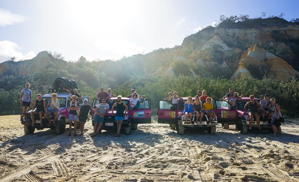 Notre excursion Fraser Dingo Australie ile de sable