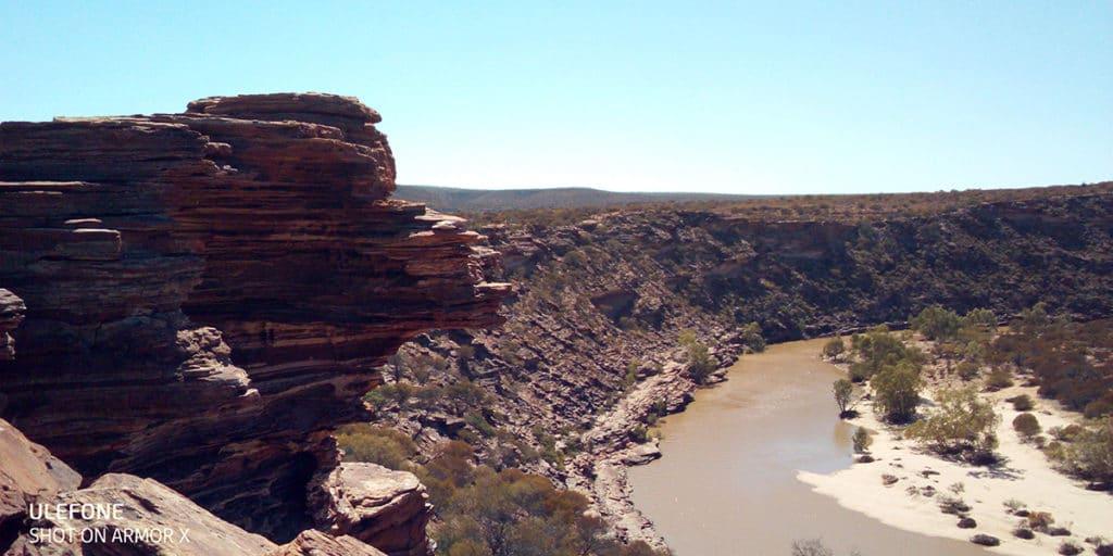 itinéraire Perth à Broome kalbarri national park