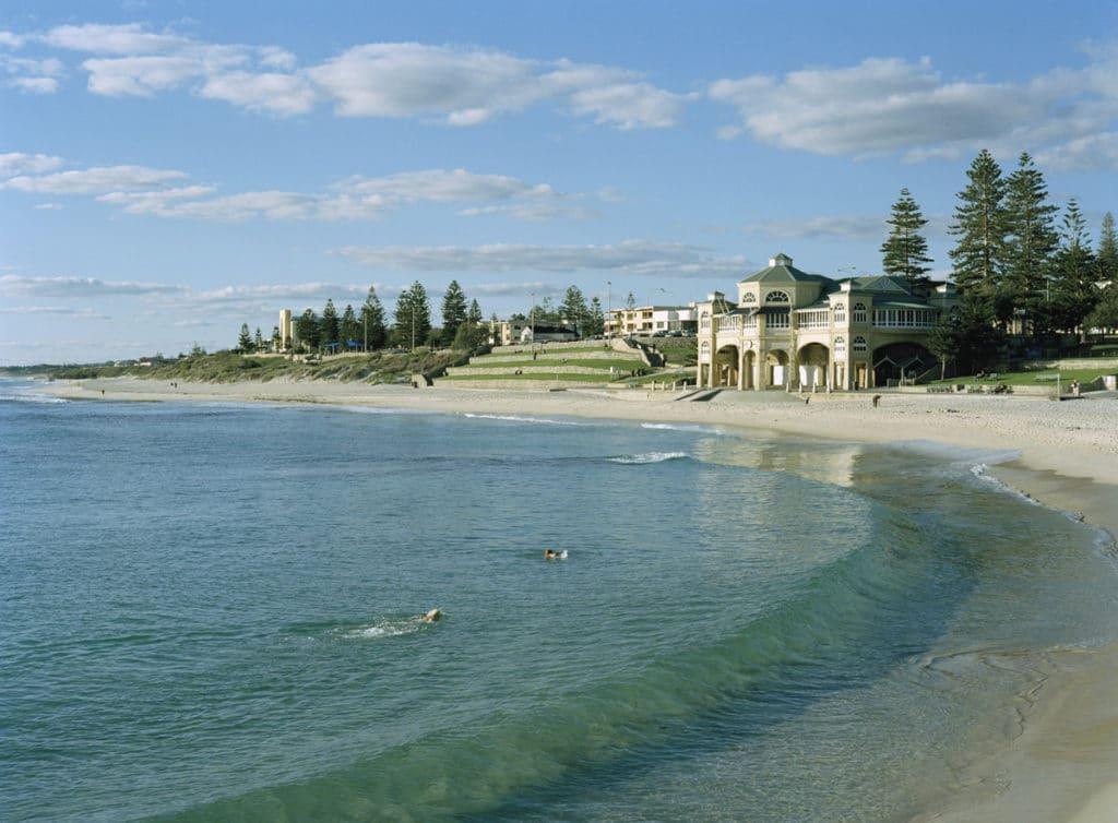 les plages a Perth