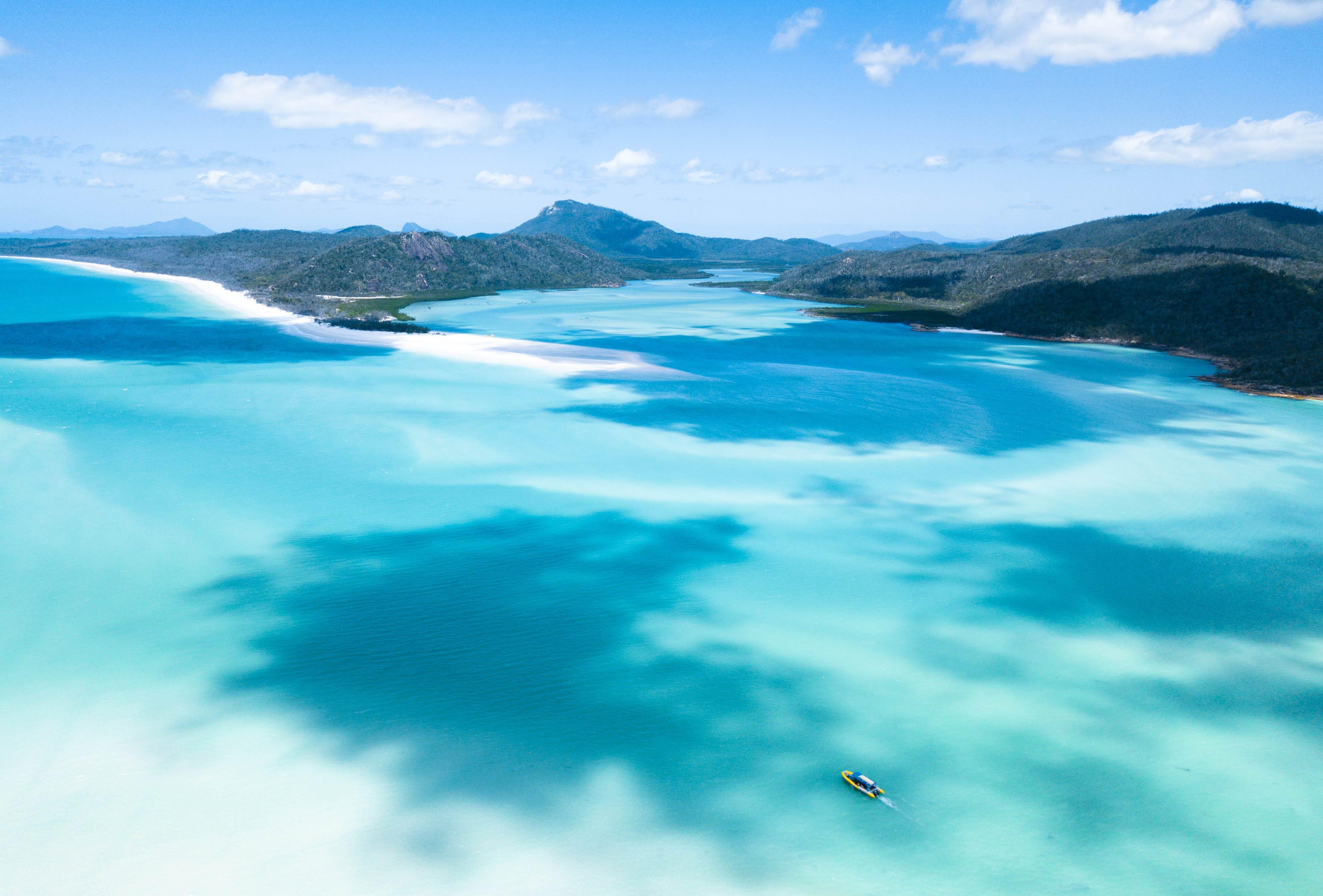 cote est australie Whitsunday Islands
