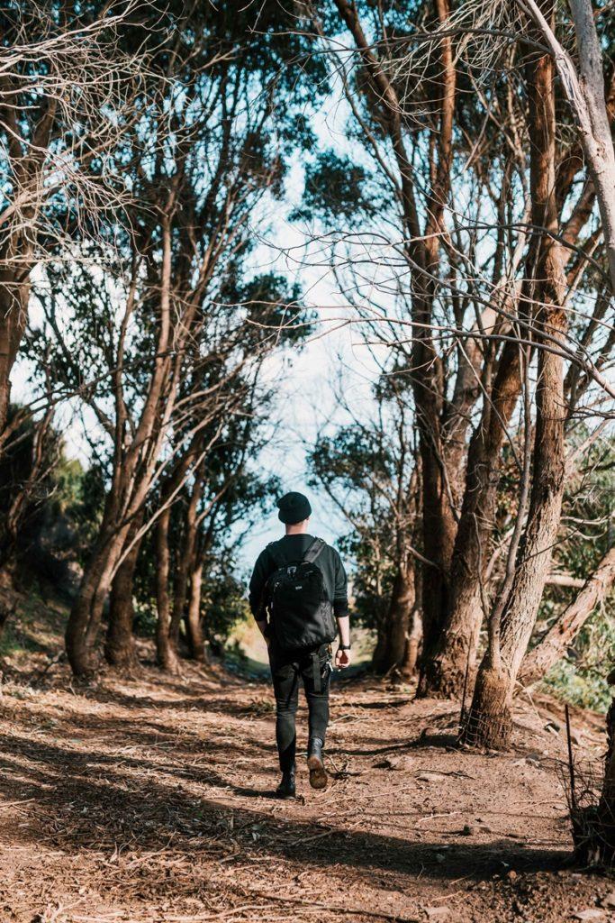 Marcheur - Road trip Australie