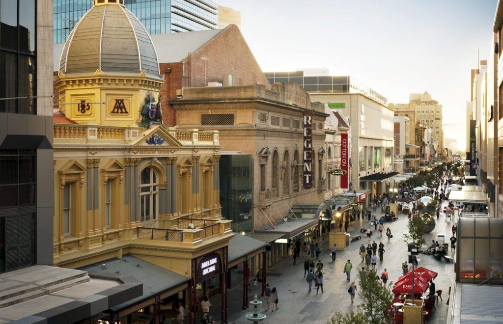 Rundle Mall Adélaïde