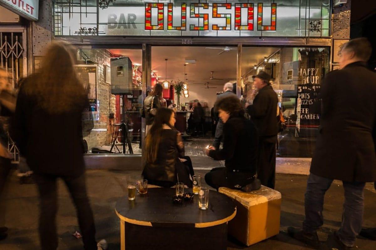 lieux insolites melbourne bar oussou