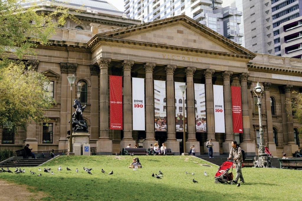 Melbourne Library - Que faire à Melbourne quand on est fauché