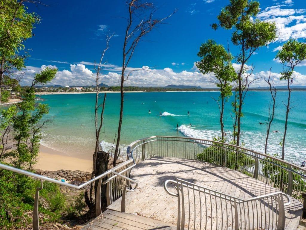 Noosa main beach - Road trip côte Est Australie