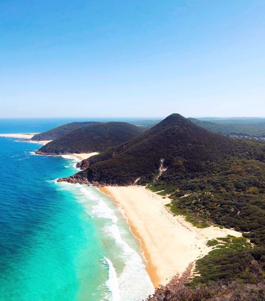 Tomaree Head Summit - Port Stephens - Road trip côte Est Australie