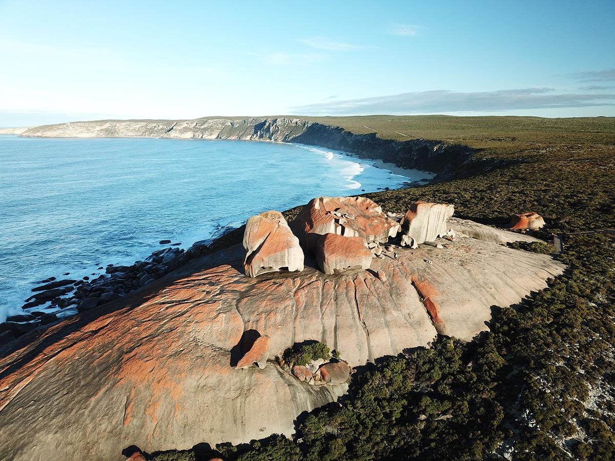 kangaroo island lieux immanquables
