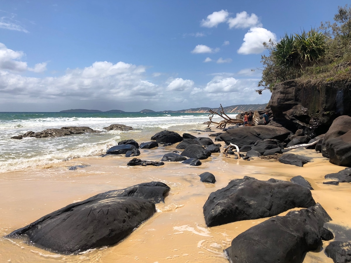 cote est australie Rainbow Beach