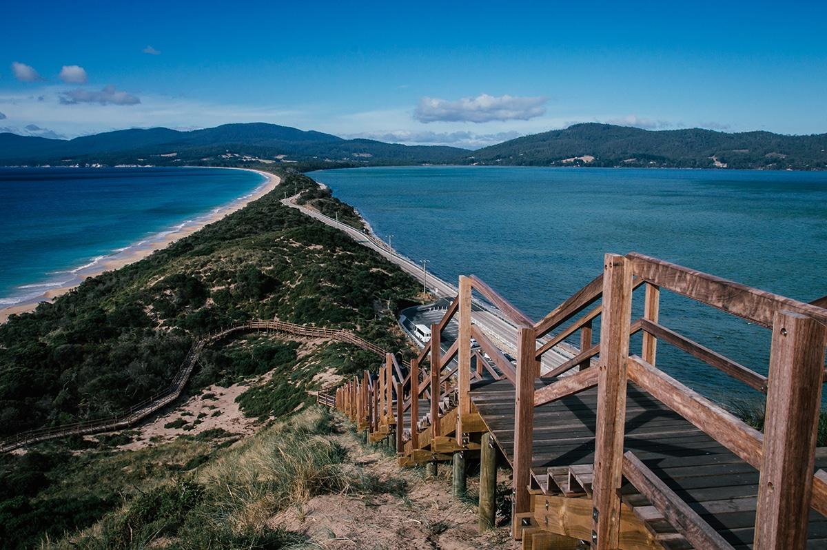 the neck bruny island iles tasmanie