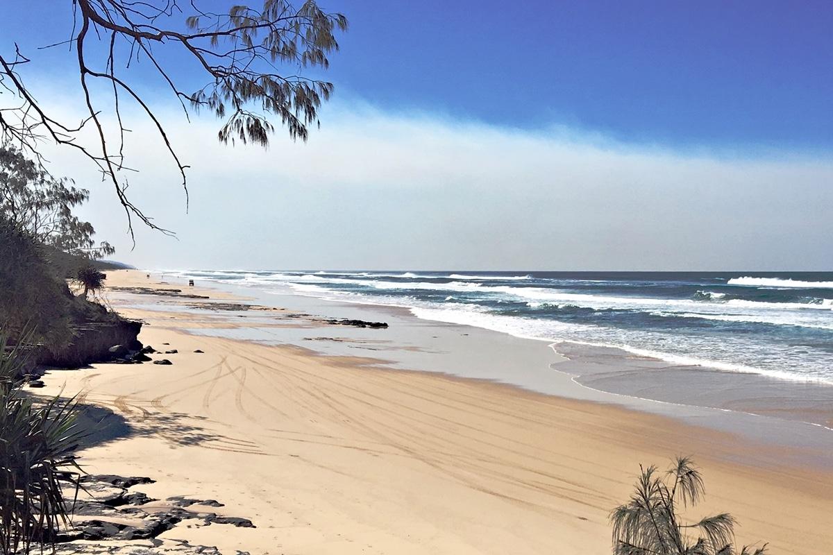 75 Mile Beach - Fraser Island