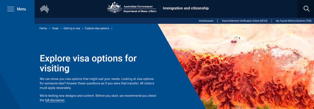 tutoriel whv australie Tuto whv page d'accueil démarrez l'application 1er whv