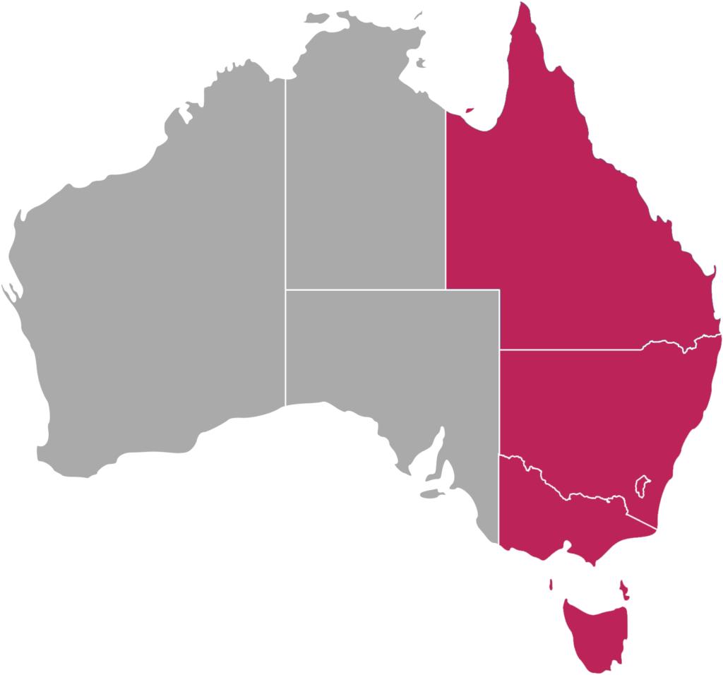 fuseau horaire cote Est AEST Australian Eastern Standard Time Téléphoner en Australie