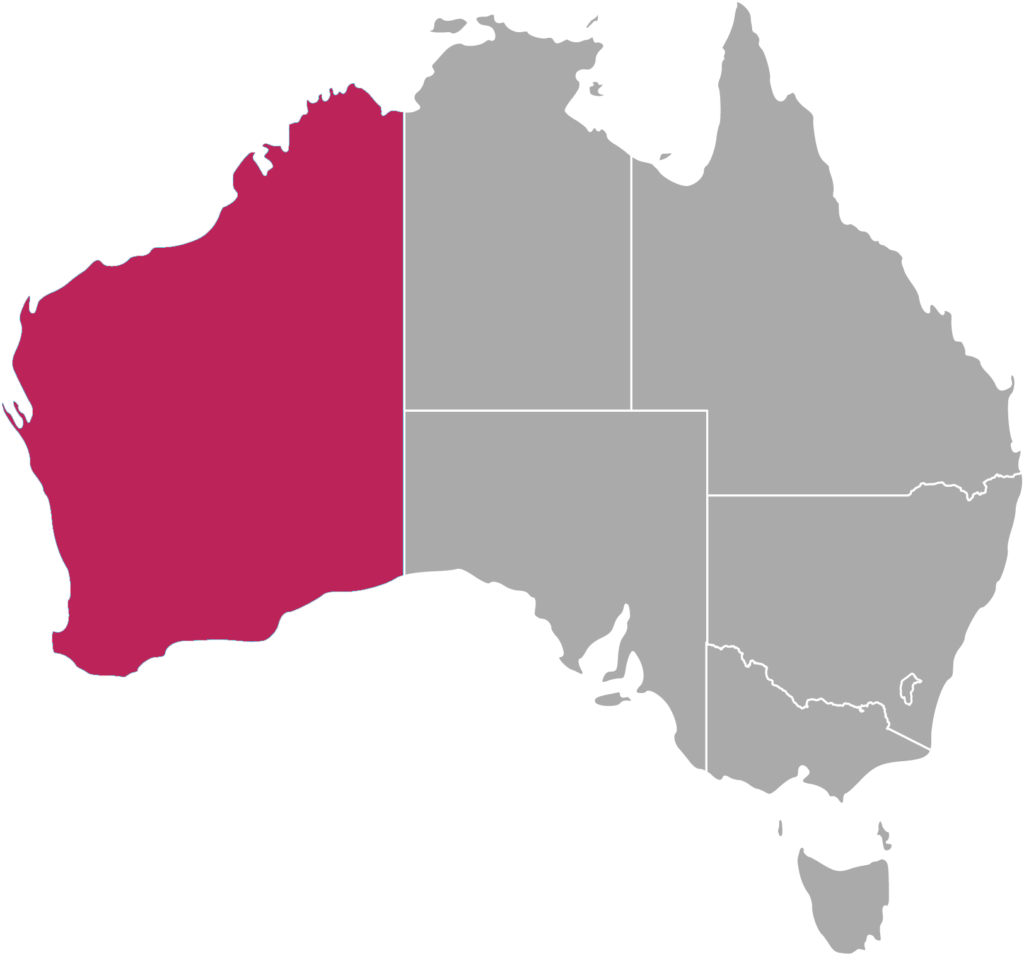fuseau horaire Western Australia cote Ouest AWST Australian Western Standard Time
