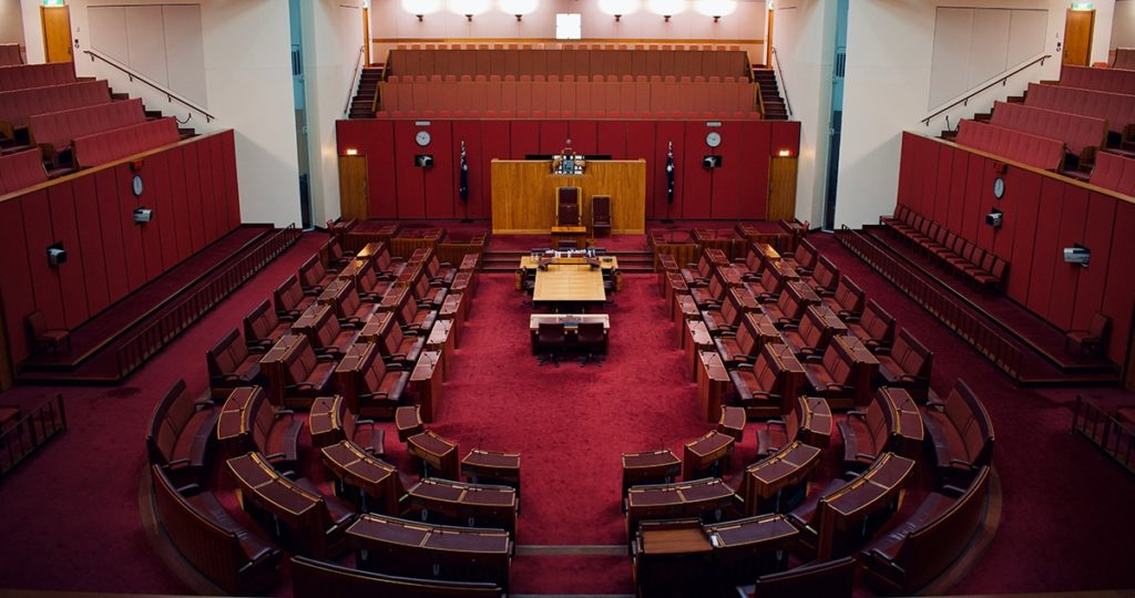 parlement canberra