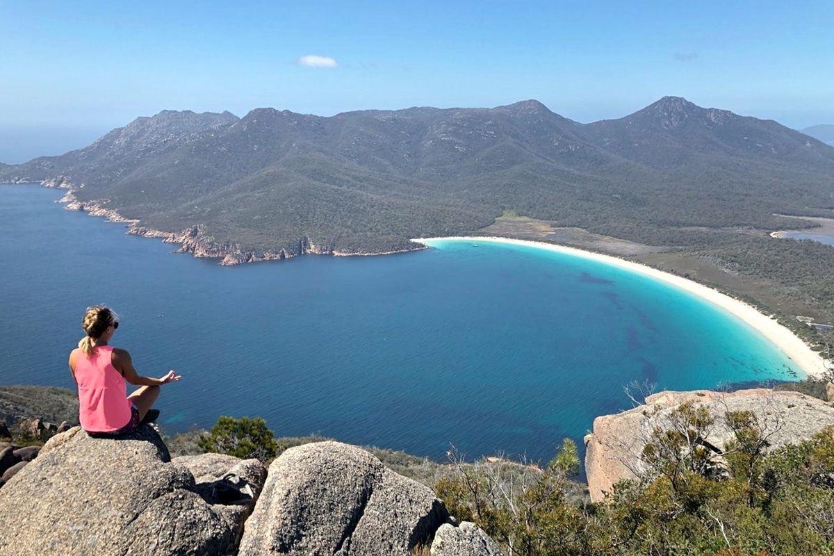Wineglass Bay - Tasmanie - Plus belles plages en Australie