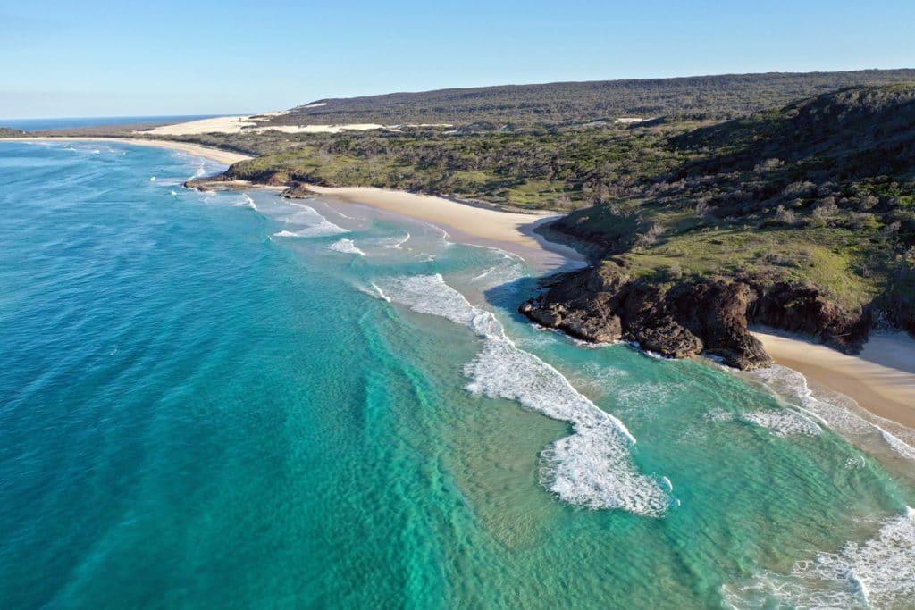fraser island road trip cote est australie