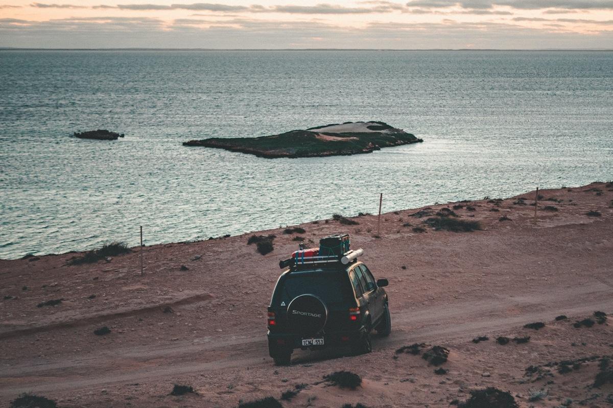 Shark Bay en 4x4 - Côte Ouest Australie