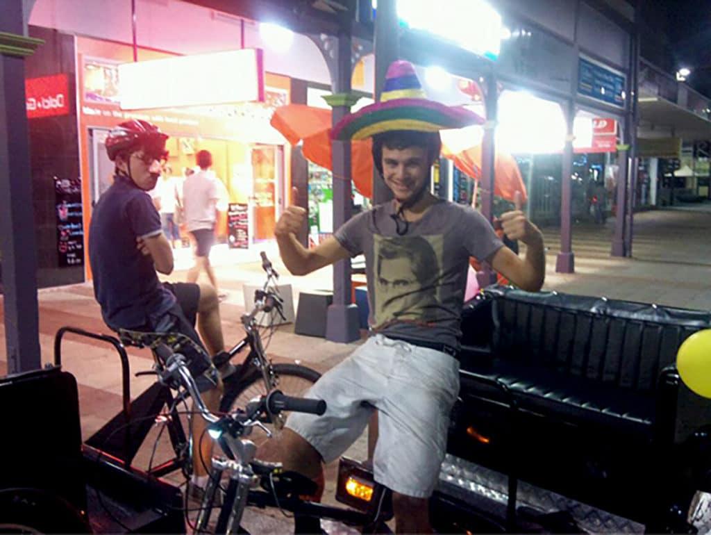 pedicabs australie