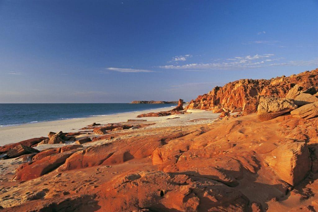 broome western australia itinéraire côte ouest
