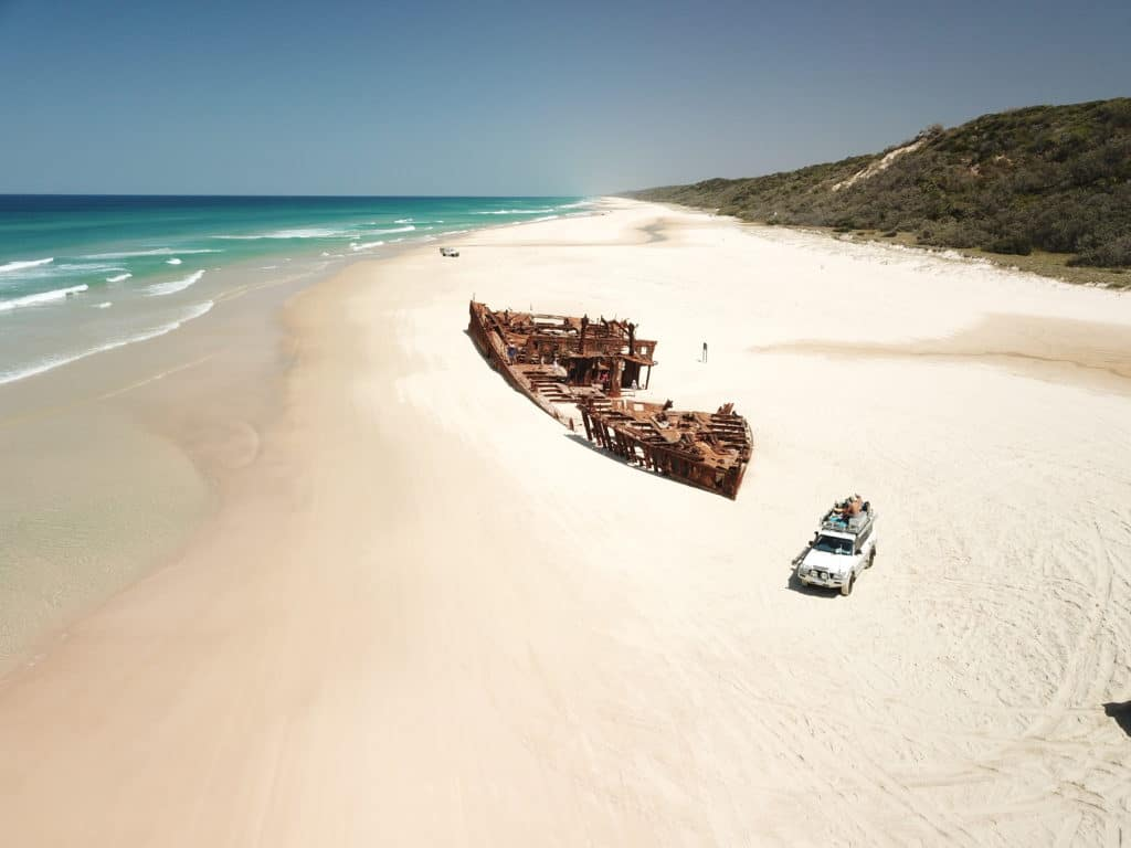 great sandy national park fraser island queensland parcs nationaux