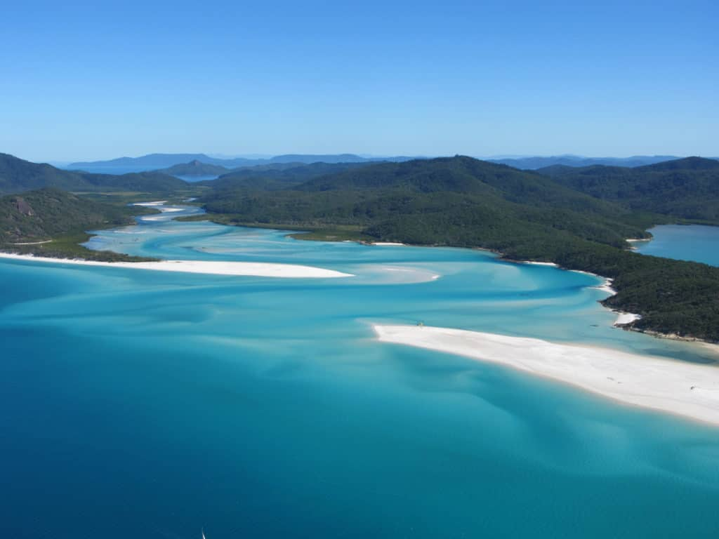 Whitsunday Islands National Park Whitehaven Beach Queensland