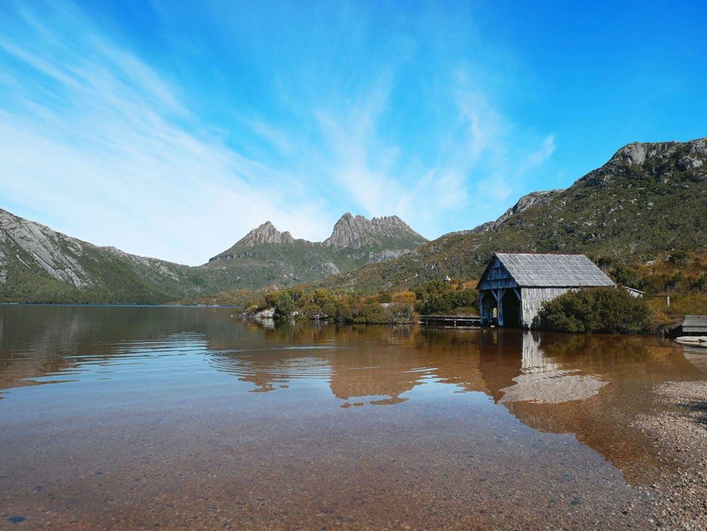 parcs nationaux cradle mountain tasmanie